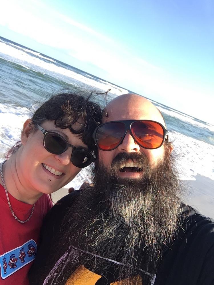 anastasia state park beach selfie