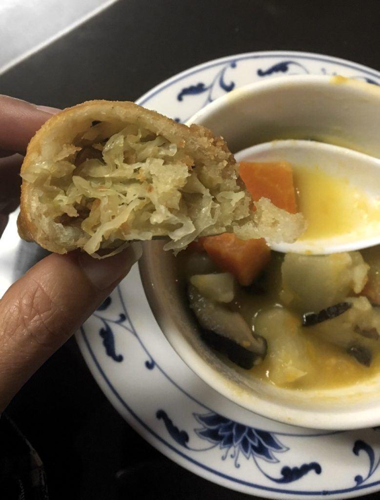 appetizer insides at trang viet cuisine