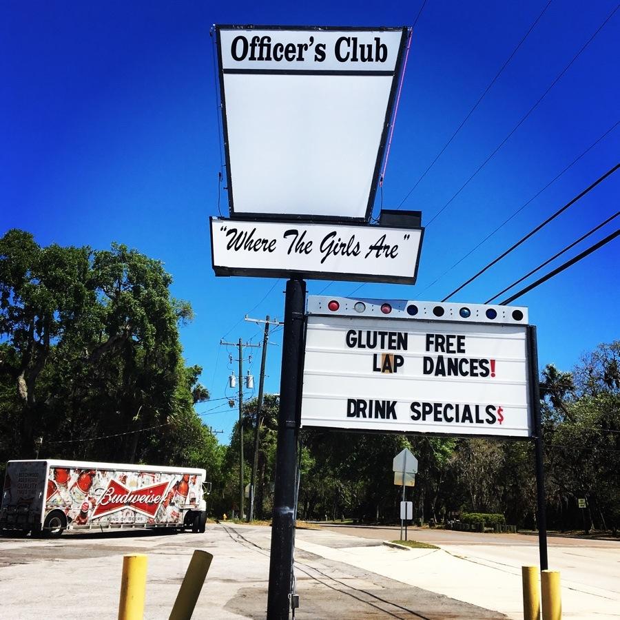 strip club sign by hanna park.