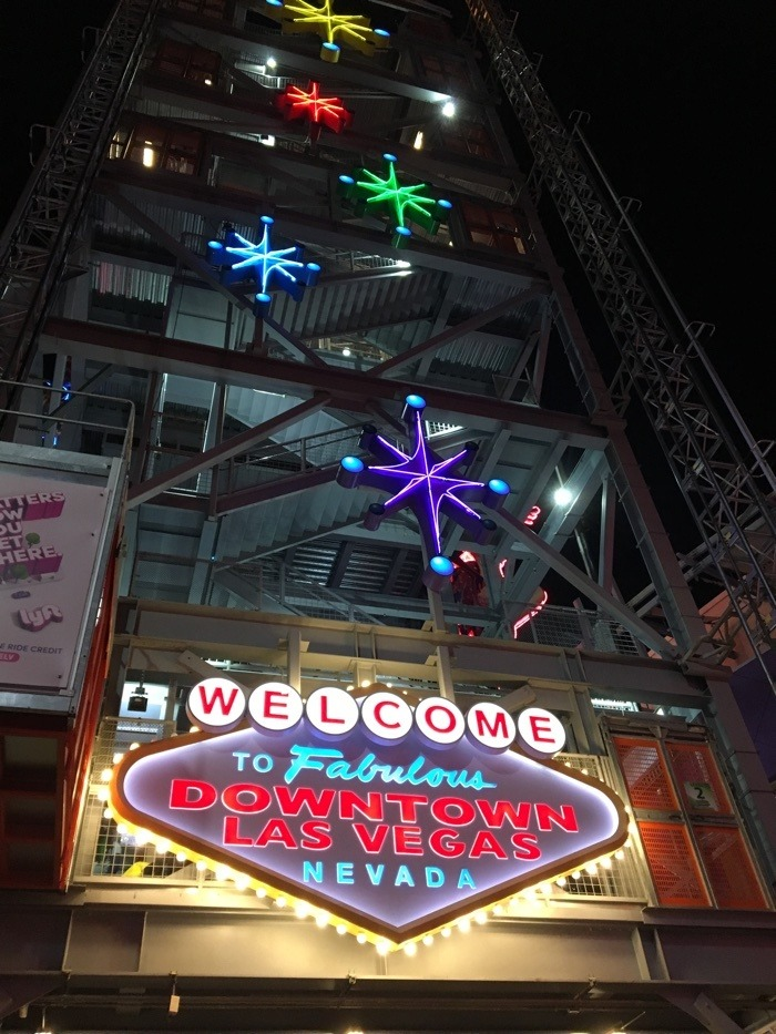 downtown las vegas sign.