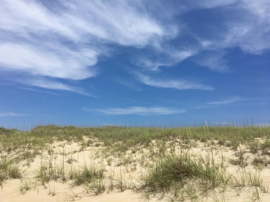 dunes near frisco campground.
